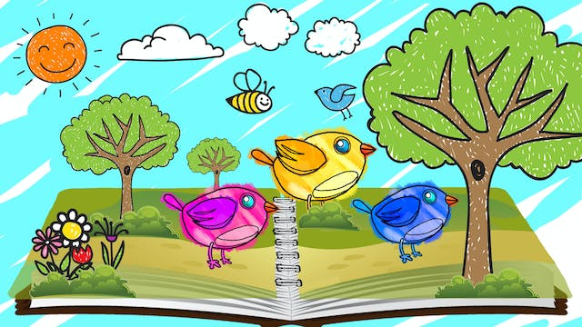 Learn Colors With Story Book