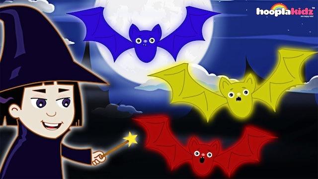 HooplaKidz - Three little bats