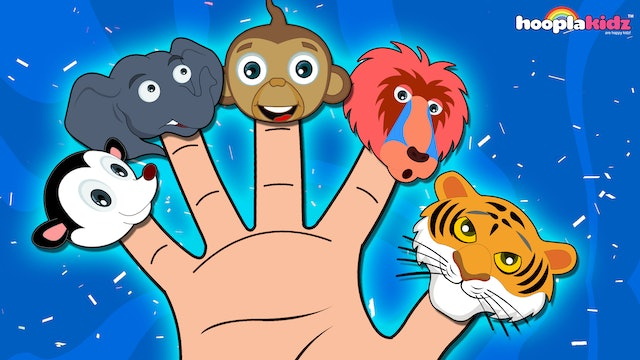 Wild Animals Finger Family