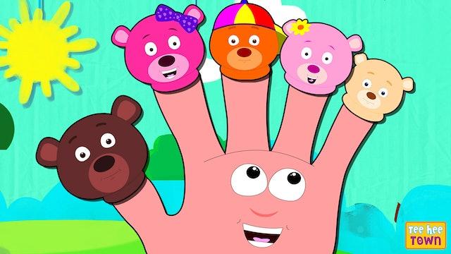 Bear Finger Family