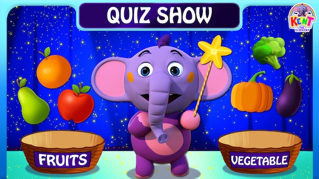 Kent The Elephant - Kent - Fruits & Vegetables