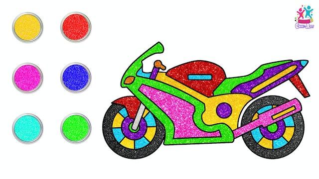 Chiki Art - Motorcycle
