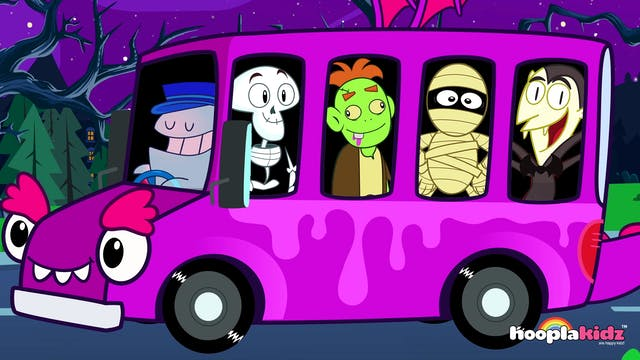 Wheels On The Bus (Spooky Version) - ...