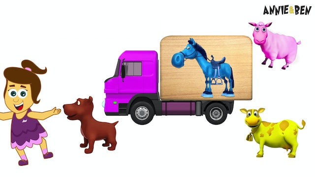 Annie And Ben - Fit Animals In The Truck