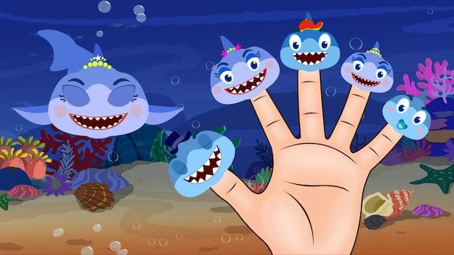 HooplaKidz - Shark Finger Family