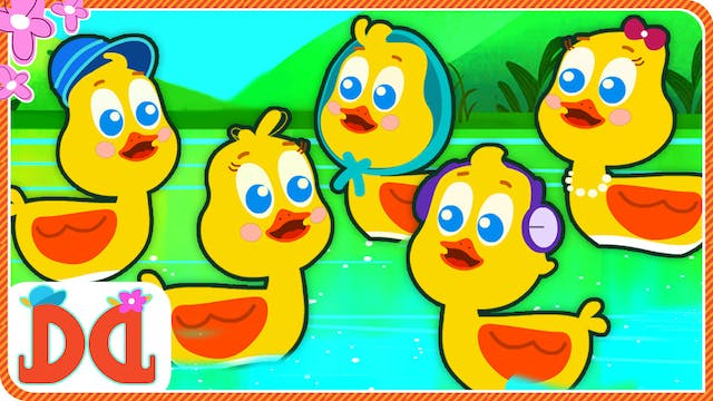 Five Little Ducks - Mama Duck'S Birthday