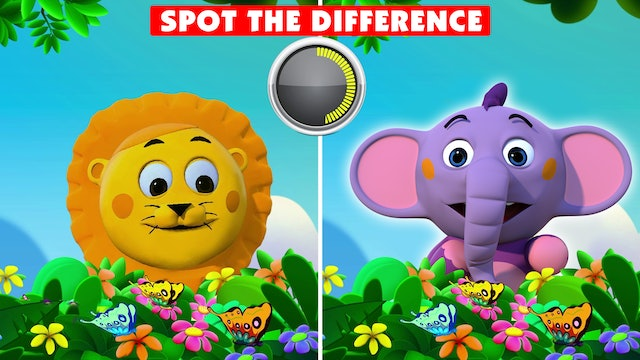 Kent the Elephant - Spot the difference