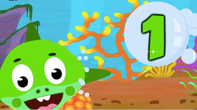 Learn Numbers With Underwater Animals