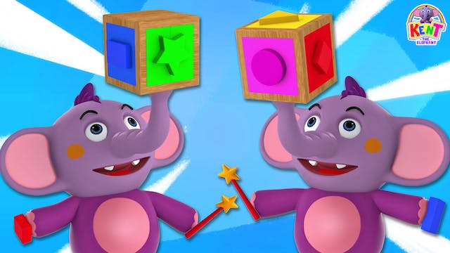 Learn Shapes With The Puzzle Cube