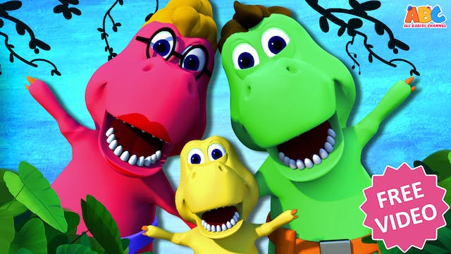 All Babies Channel - Dino Finger Family