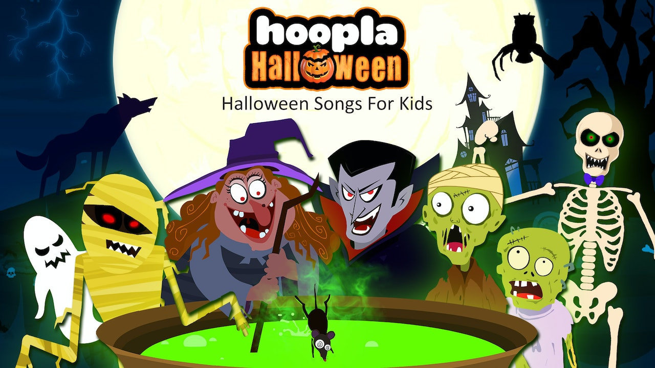 Hoopla Halloween- Halloween Songs For Kids