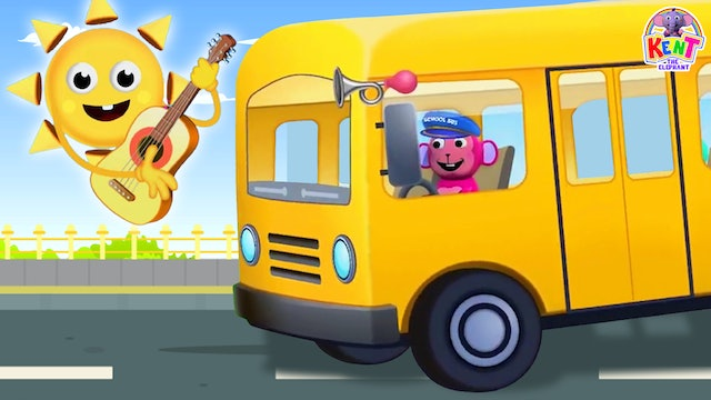 Kent The Elephant - The School Bus Song