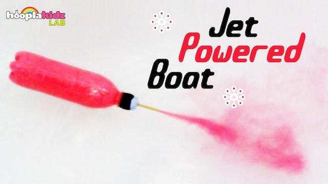 Jet Powered Boat