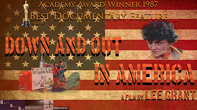 AFI Silver Presents: Down and Out in America