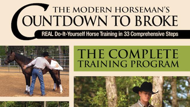 Modern Horseman's Countdown to Broke-Set 3