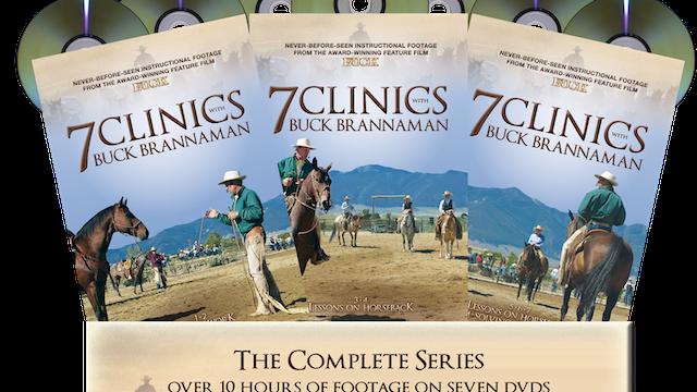 7 Clinics with Buck Brannaman Complete Set