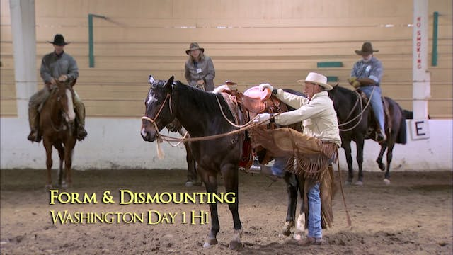 Disc 3 – Chapter 9 - Riding Form - Form & Dismounting