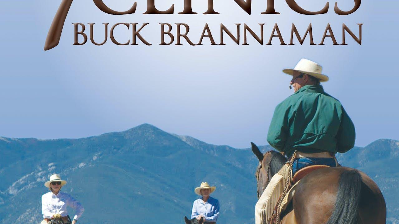 7 Clinics w/Buck Brannaman #5-Lessons HorsebackIII