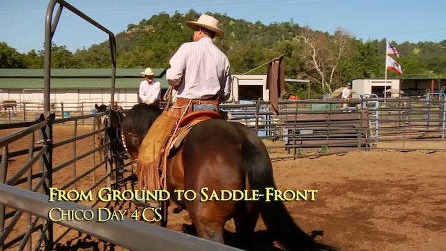 Disc 2 – Chapter 21 - Flags - From Ground to Saddle - Front