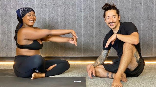 5-Min Toe and Wrist Stretch with Derik E