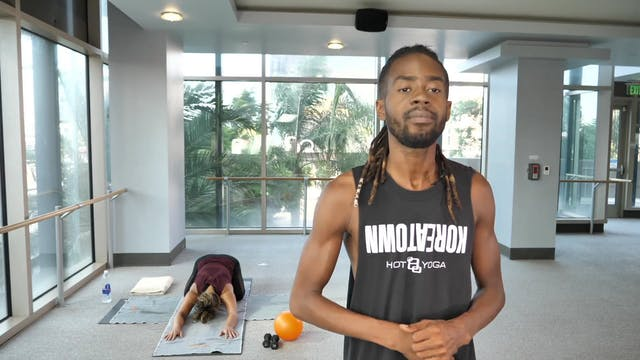 Yoga Barre with Antwan T