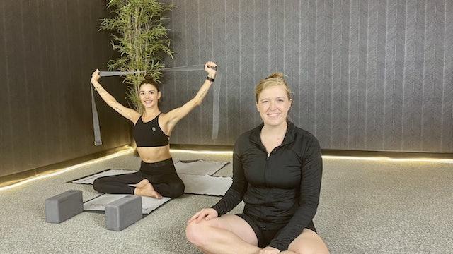 10-Min Shoulder Stretch with Kristen T