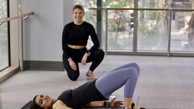 30-Min Lower Body Yoga Barre with Jillian F