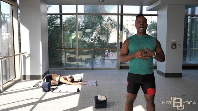 Yoga Barre with Cornelius J