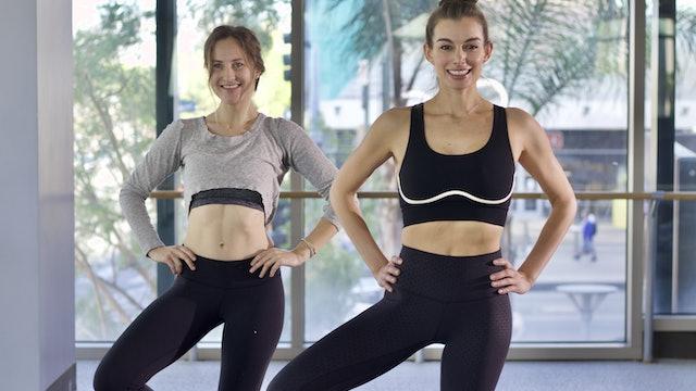 30-Min Yoga Barre with Marikah C