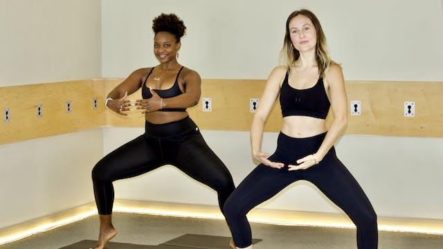 45-Min Yoga Barre with Nicole K