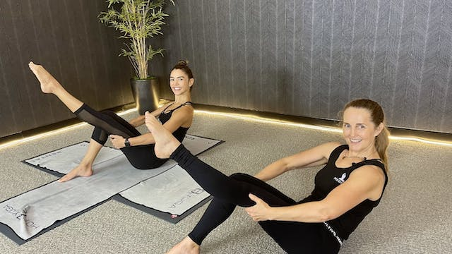 10-Min Barre Core with Deanna A