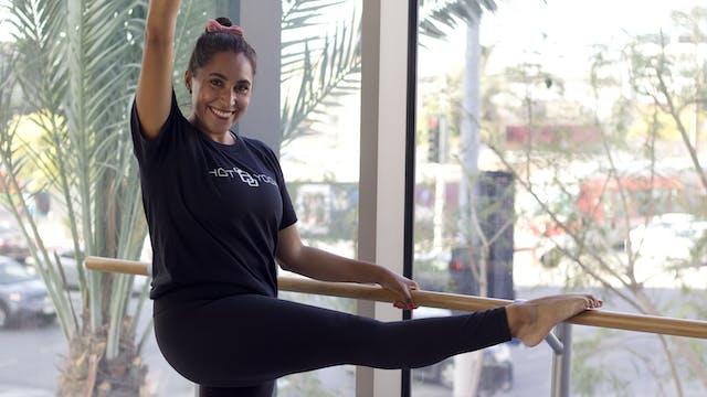 30-Min Yoga Barre wirh Ursula P