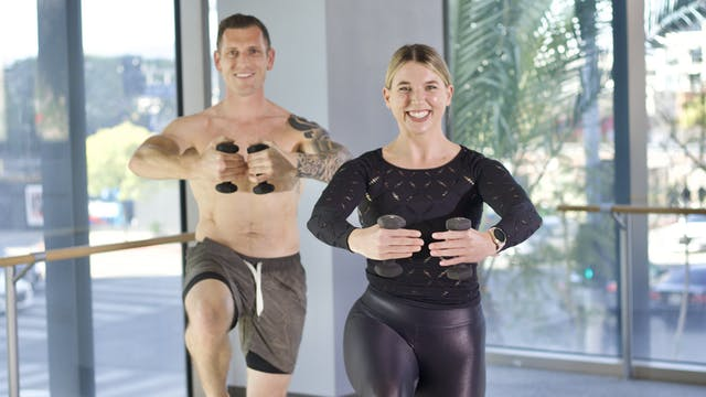 30-Min Yoga Barre with Jillian F