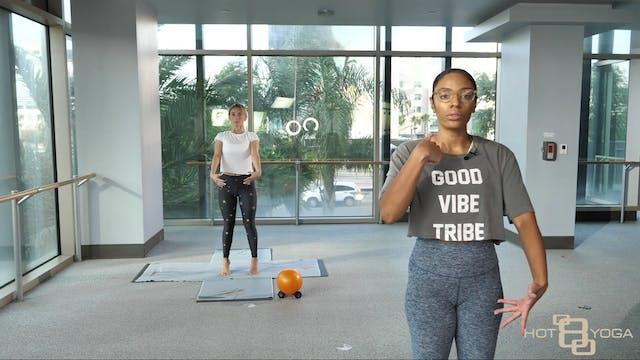 Yoga Barre with Faren C