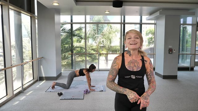 30-Min Arms & Abs with Christina G