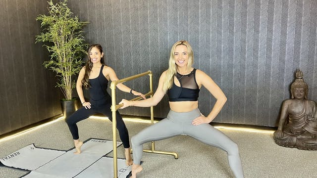 Yoga Barre with Whitney E