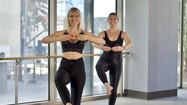 30-Min Yoga Barre with Kerttu K