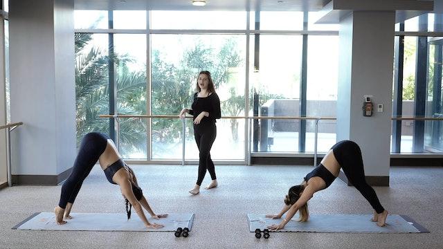Yoga Barre with Maya G
