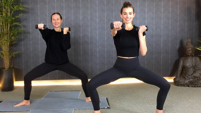 45-Min Yoga Barre with Marikah C