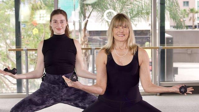 30-Min Yoga Barre with Nancy N