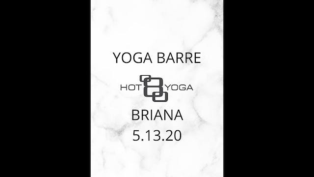 Yoga Barre with Briana D