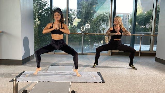 Yoga Barre with Christina G