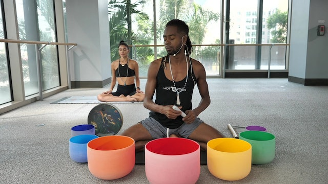 30-Min Breathwork & Soundbath with Antwan T