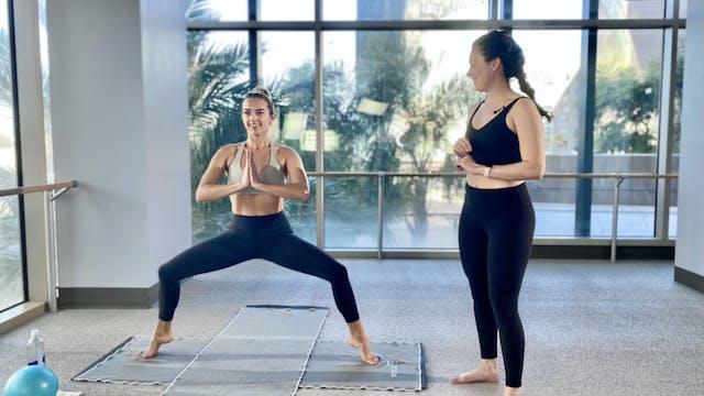 Yoga Barre With Reid W