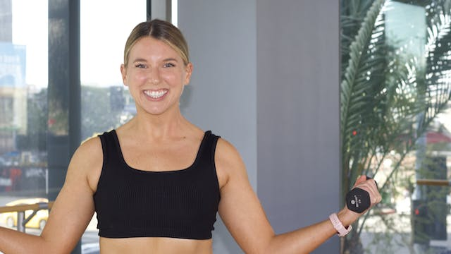 30-Min Yoga Barre with Jillian F