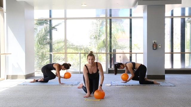 Yoga Barre Bands & Balls with Jillian F