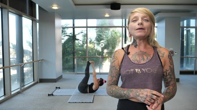 Yoga Barre with Christina G