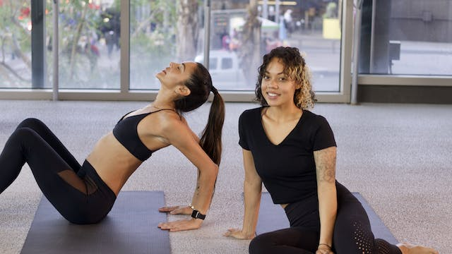 30-Min Bedtime Stretch with Raea B