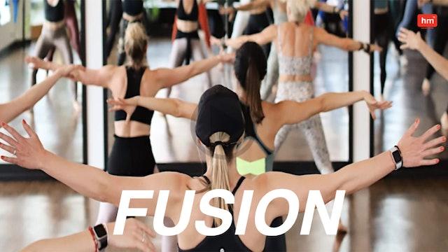 Mon @ 6a Fusion w Myrna 6/28