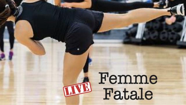 Thu @ 9a Femme Fatale w Cari  10/28